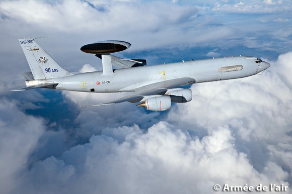 E-3F - AWACS francês - foto Força Aérea Francesa