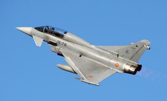 Eurofighter Typhoon - foto Força Aérea Espanhola