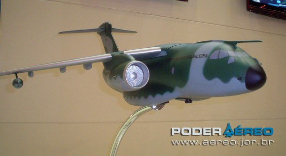 LAAD 2011 KC-390 - foto Poder Aereo Poggio