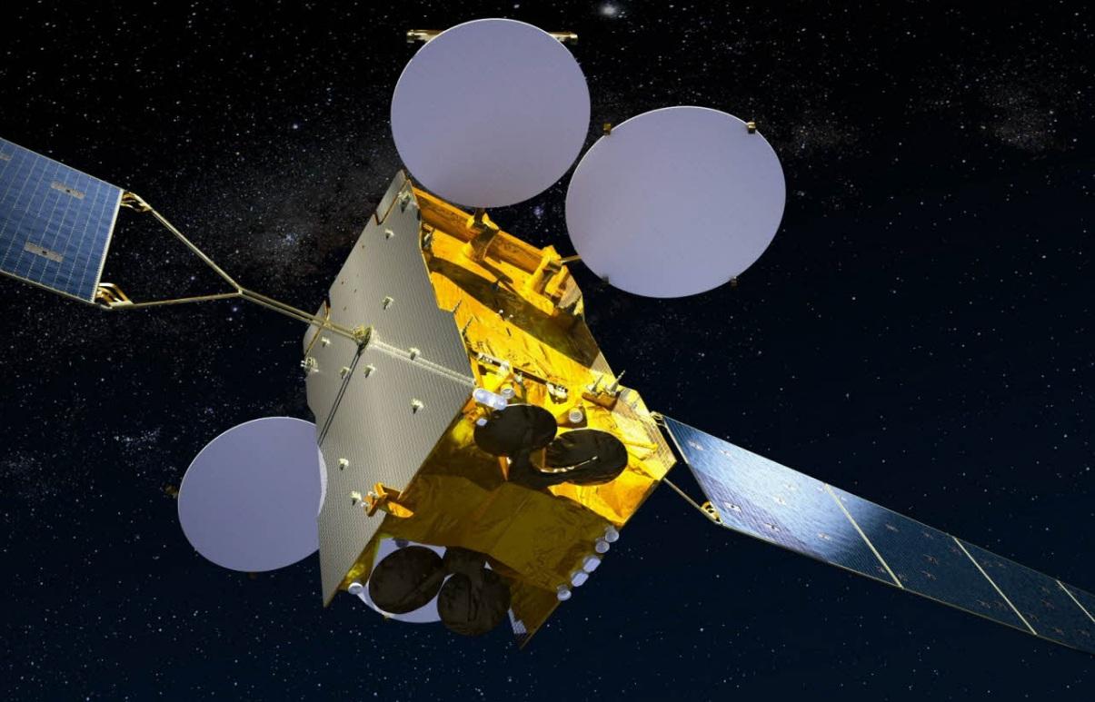 satélite baseado na plataforma Eurostar E3000 - foto Astrium