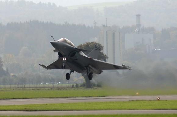 Avaliação do Rafale na Suíça - foto Força Aérea Suíça