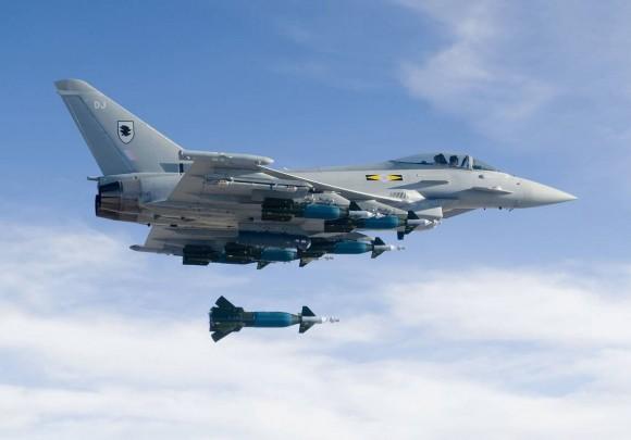 Typhoon RAF - foto Eurofighter