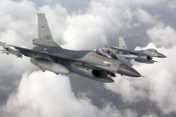 F-16 da Holanda - foto 2 Força Aérea Holandesa