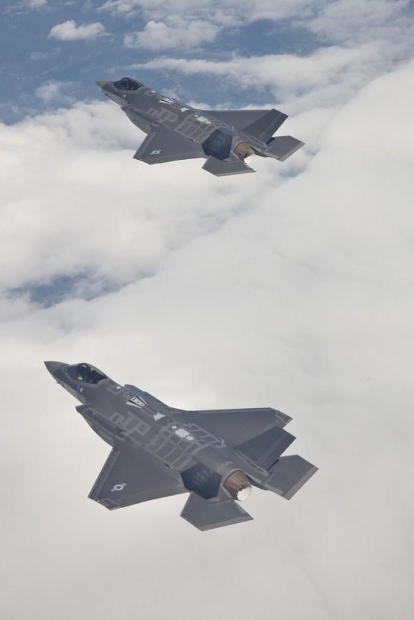 jatos F-35 em formação - foto Lockheed Martin
