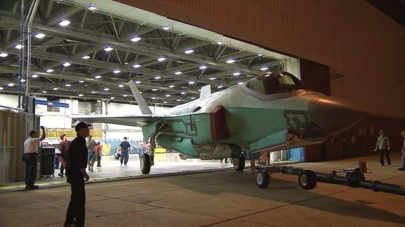 roll-out do primeiro F-35 da Holanda - foto Lockheed Martin
