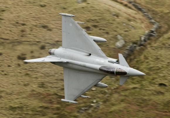 Typhoon RAF do esquadrão 17R - foto Eurofighter