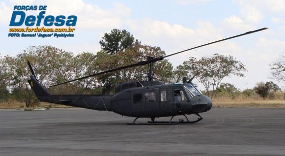 H1H da FAB - foto Forças de Defesa