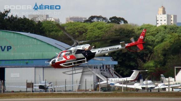 PAMA-SP 2012 - 22set - Esquilo Águia 15 PMSP -  foto Nunão - Poder Aéreo