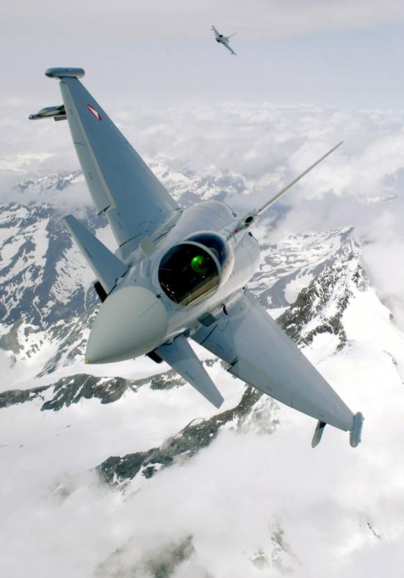 Caças Eurofighter Typhoon austríacos - foto 2 Força Aérea Austríaca