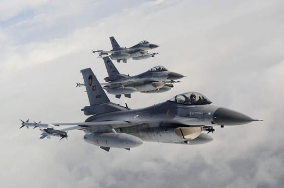 F-16 Turquia - foto Força Aérea Turca