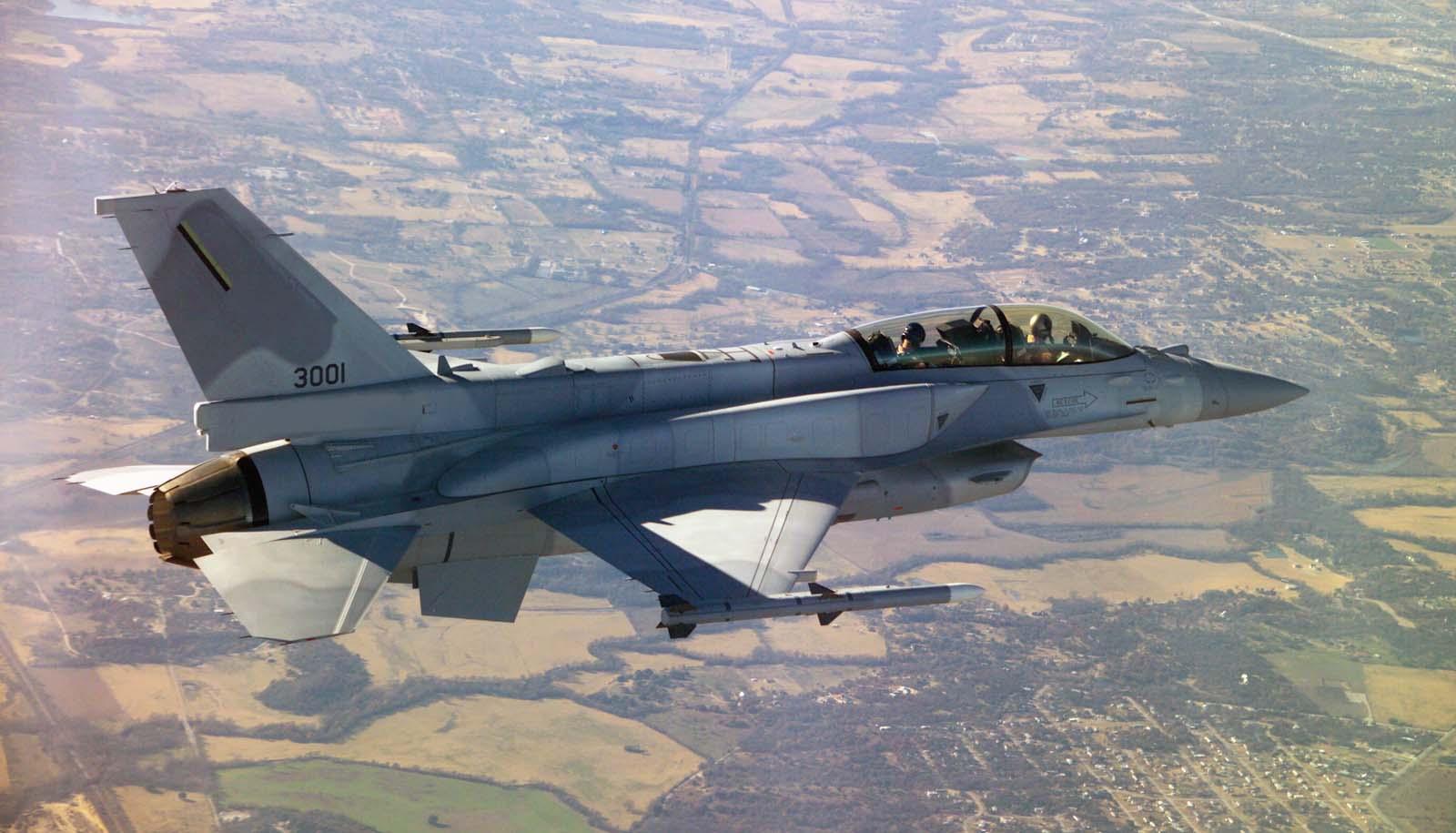 F-16 - foto Lockheed Martin