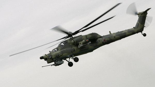 Mi-28 - foto via RIA Novosti