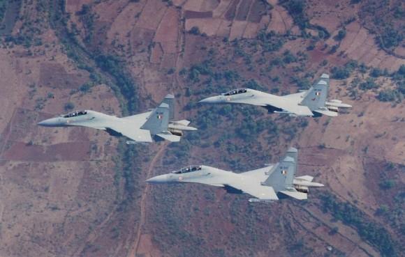 Su-30MKI - foto Força Aérea Indiana