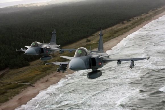 Gripen no Báltico- foto 2 D Schreier - Forças Armadas da República Tcheca