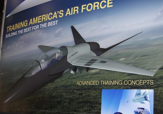 Concepção de jato de treinamento da Boeing para o T-X da USAF