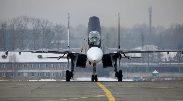 primeiro Su-30SM para a forca aerea russa - foto united aircraft 1