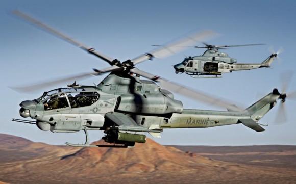 AH-1 e UH-1_foto bell