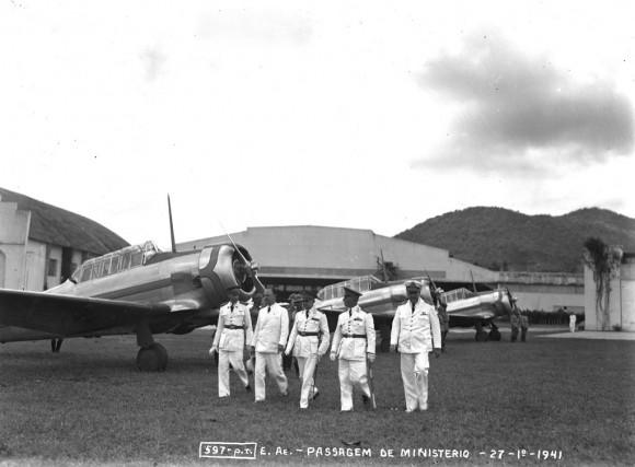 Criação do Ministério da Aeronáutica - Campo dos Afonsos - 20 de Janeiro de 1941 - 2