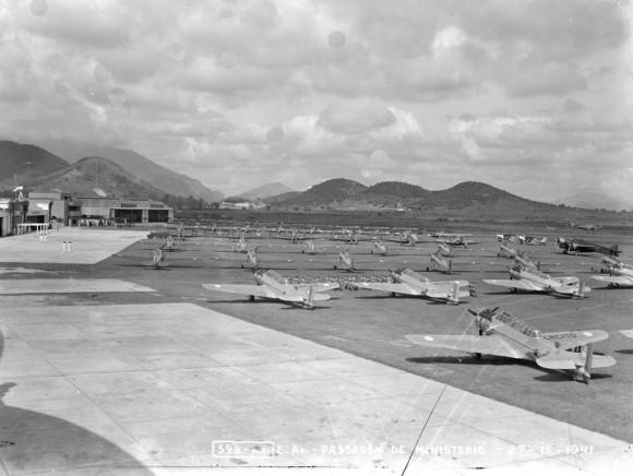 Criação do Ministério da Aeronáutica - Campo dos Afonsos - 20 de Janeiro de 1941
