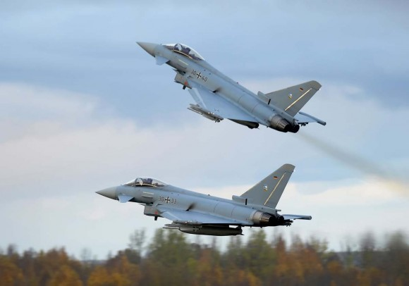 Eurofighter of the German Air Force