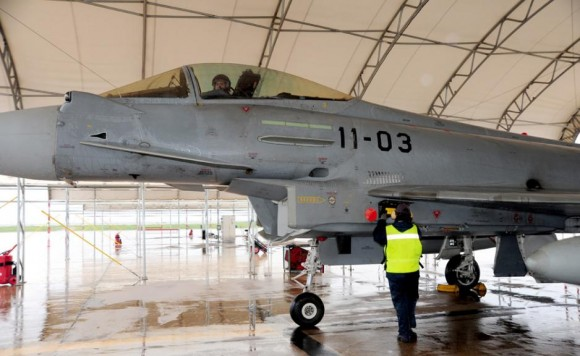 Eurofighter espanhol - foto Ejercito del Aire