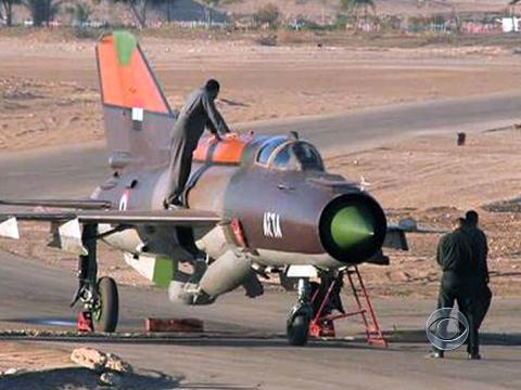 MiG sirio voou para a turquia - foto CBS