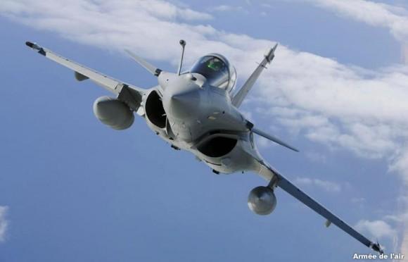 Rafale - foto Força Aérea Francesa