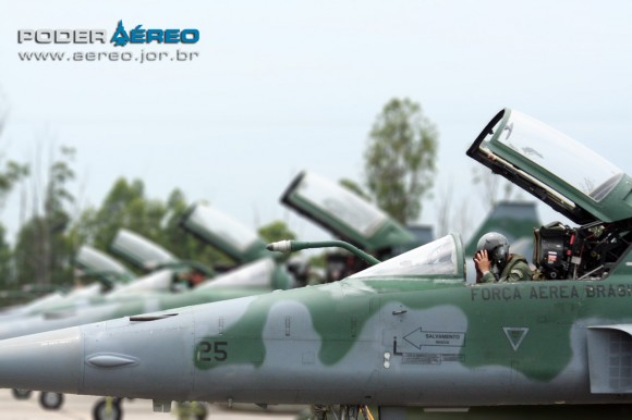 F-5EM na BASC - festa dos 64 anos do GAVCA - foto Poder Aereo - Galante