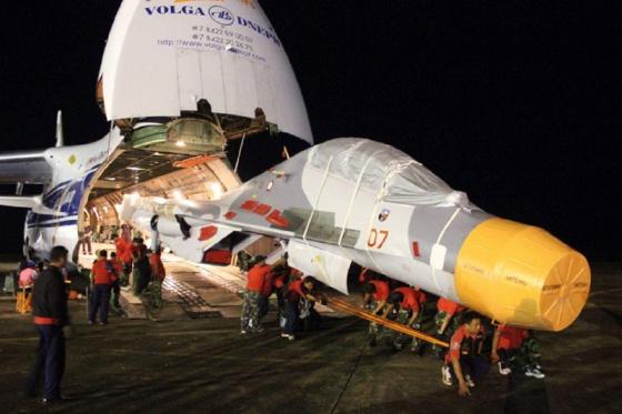 Su-30_MK2 chaga a Indonesia