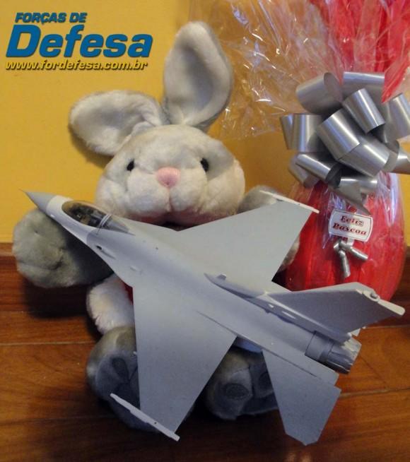 Coelhinho da Páscoa do Poder Aéreo - foto Nunão - Forças de Defesa