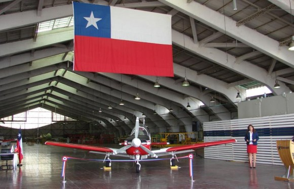 ENAER T-35 entregue em 8-3-2013 - foto 2 FACh