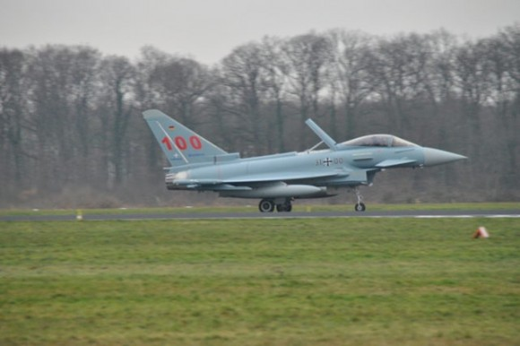 Eurofighter Typhoon número 100 para a Força Aérea Alemã - foto 2 Eurofighter via Luftwaffe