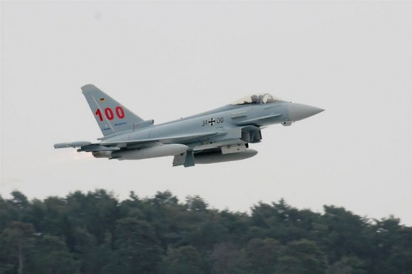 Eurofighter Typhoon número 100 para a Força Aérea Alemã - foto Eurofighter via Luftwaffe