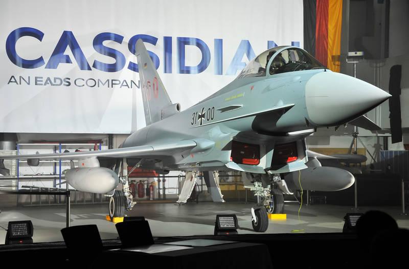 Eurofighter Typhoon número 100 para a Força Aérea Alemã - foto Eurofighter