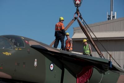 F-111 no South Australian Aviation Museum - foto 3 SAAM