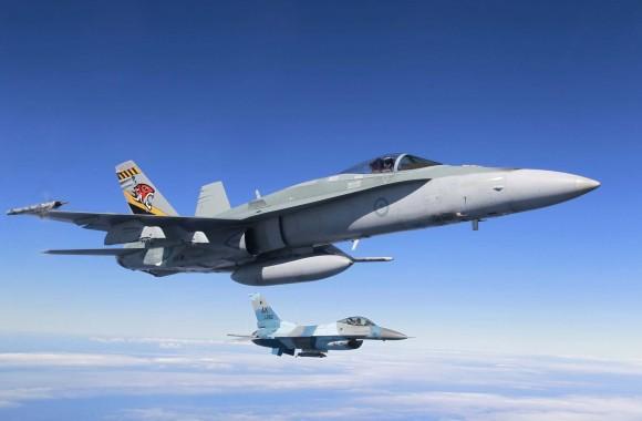 F-18 Hornet RAAF e F-16 Aggressor USAF - foto 5 MD Australia