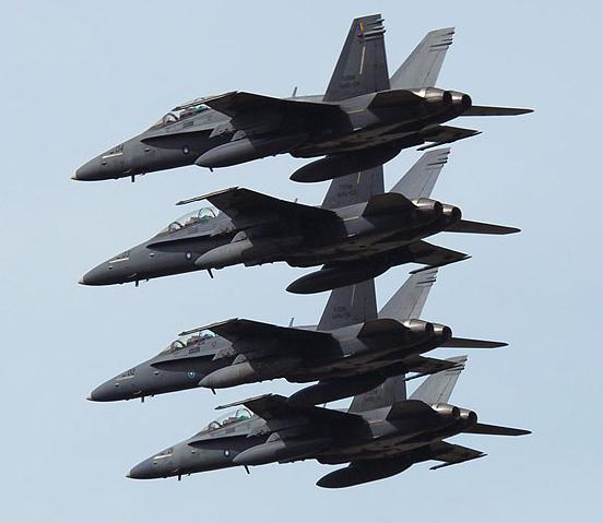 F-18D Malásia - foto via Malaysia Flying Herald