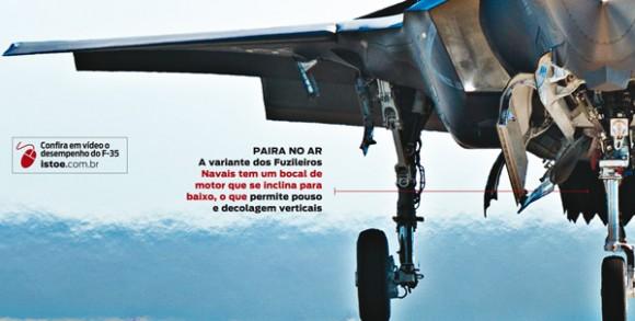 F-35 Infográfico Isto é 2