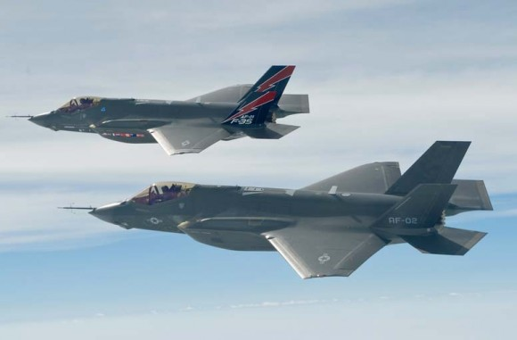 F-35 - foto Força Aérea dos EUA