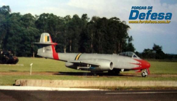 F-8 Gloster Meteor da FAB na AFA - foto 2 Nunão - Poder Aéreo - Forças de Defesa