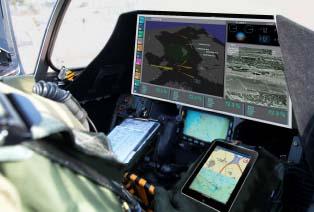 Gripen NG para F-X2 - cockpit - imagem via apresentação Saab em Brasília 6mar2013