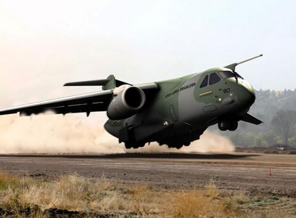 KC-390 - imagem Embraer