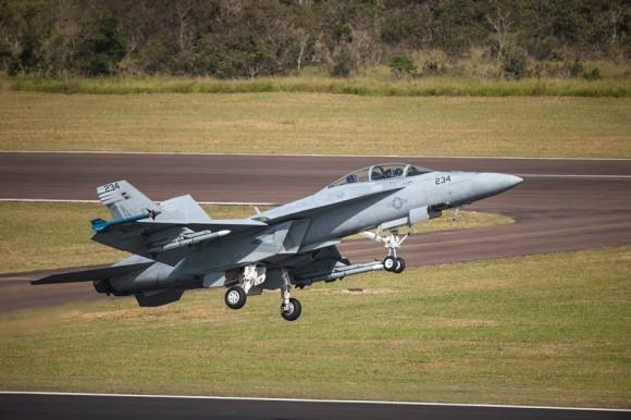 Super Hornet - foto Boeing