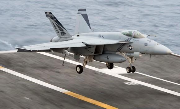 Super Hornet - foto USN