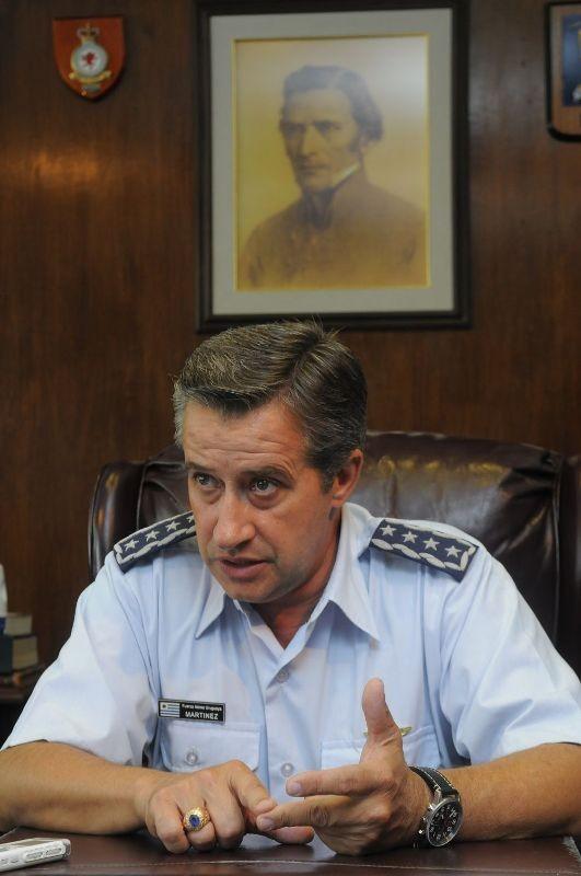 Washington Martinez comandante Força Aérea Uruguaia - foto El Pais