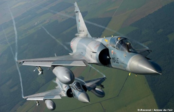 caças Mirage 2000C - foto Força Aérea Francesa