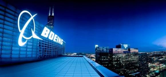 letreiro Boeing - foto Boeing