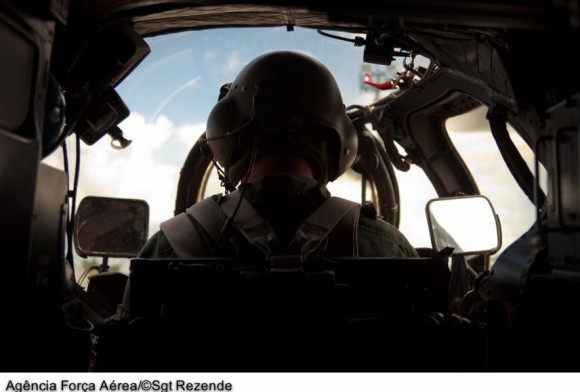 AH-2 Sabre em exercícios de tiro - foto 3 FAB
