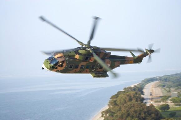Agusta-Westland EH-101 Merlin - foto Força Aérea Portuguesa