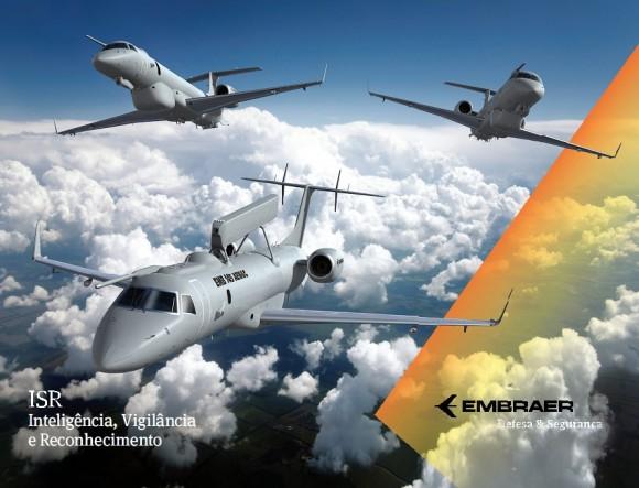 Embraer plataformas ISR